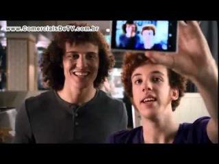 Vivo - Vivo Tudo - Lanchonete - João Ruivo e David Luiz - Comercial de TV