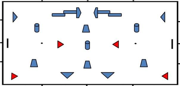 Схема поля на IV этап турнира