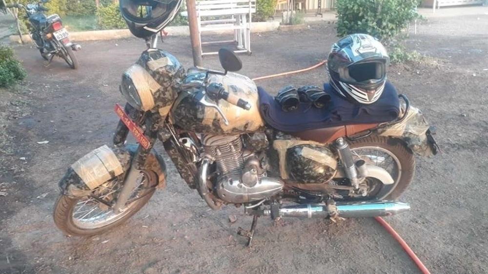 Шпионские фото нового мотоцикла Jawa 300