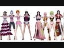 One Piece Girls Dance Baby 5 Kaiya Kiemi Kalifa Nami Hancock Robin Rebecca Vivi Viola
