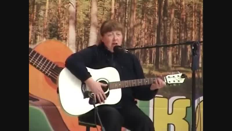 Бардовские костры-2010, день 2-ой - Ольга Вихорева, Анатолий Киреев