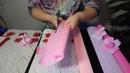 Подробный Мастер класс Аксессуары для куклы из конфет Цветы с конфетами зонтик и шляпка