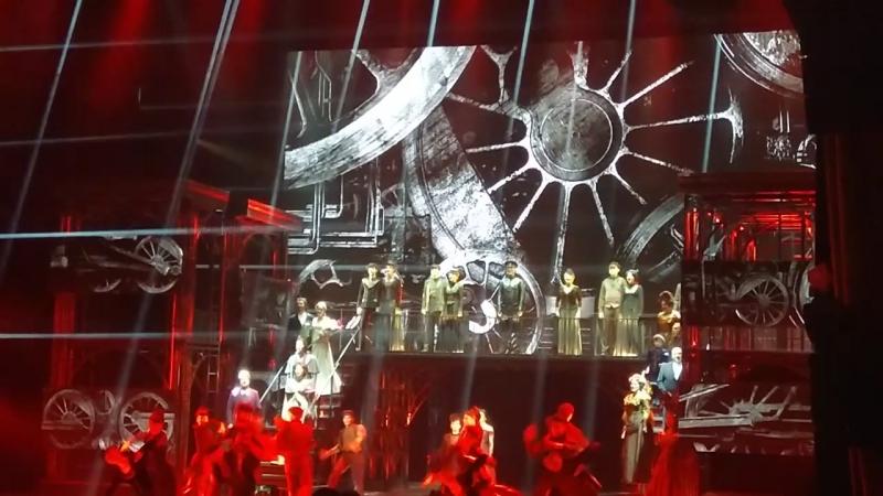 Мюзикл Анна Каренина в Московской оперетте 19 06 2018