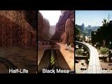 Half-life vs Black Mesa vs Project Lambda - Inbound Comparison
