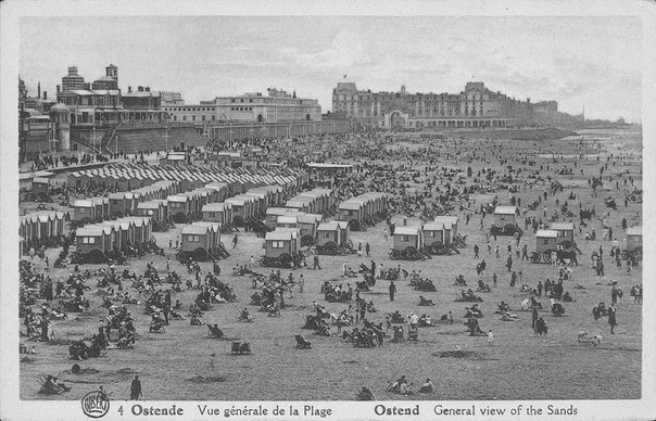 Пляжный отдых сто лет назад