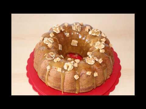 ореховый кекс с яблоками и карамельютермомиксApfel Karamel Kuchen TM5