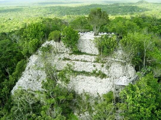Эль-Мирадор — затерянный в джунглях древний город майя