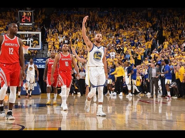 Stephen Currys Best Buckets From The 3rd Quarter of Games 3 and 4 NBANews NBA NBAPlayoffs Warriors StephenCurry