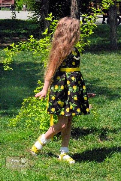 http://ru.aliexpress.com/item/Toddler-Girl-Clothing-Dresses-Lemon-Flower-Kids-Clothes-Girls-Dresses-Children-Baby-Kids-Yellow-Belt-Dress/32603945273.html ЯРКОЕ ПЛАТЬЕ С ЛИМОНАМИ... ВОЗРАСТ: 2-7 ЛЕТ ХАРАКТЕРИСТИКИ: ПЛОТНЫЙ
