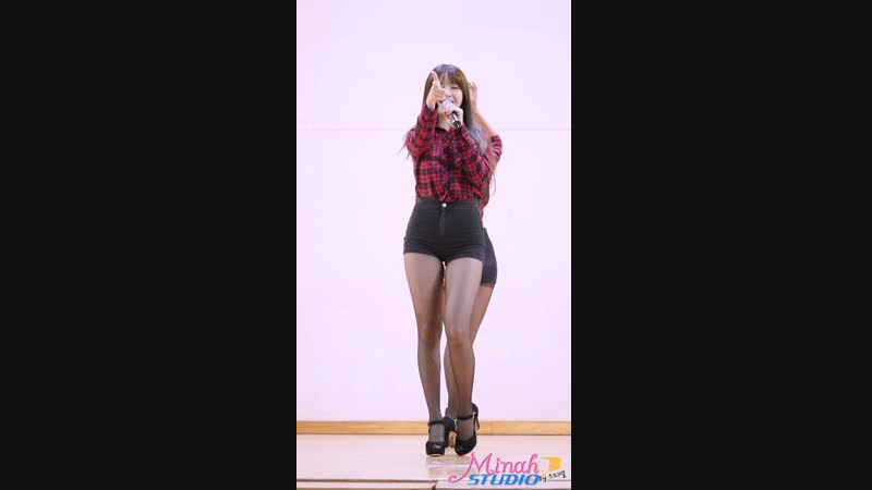 [60fps] 151217 철원 위문공연 걸스데이 민아 직캠 링마벨 by Spinel