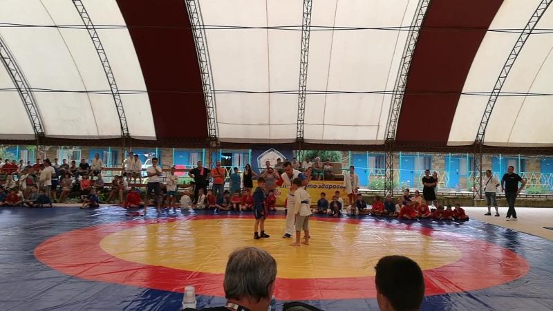 Ермолович Глеб, соревнования в Каролино-Бугаз, июнь 2018