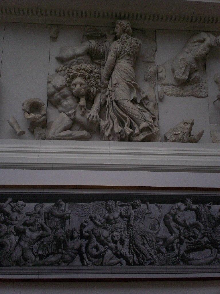 Елена Руденко. Германия. Берлин. Музей Пергамон. 2013 г. июнь. PAq9xbY-3i4