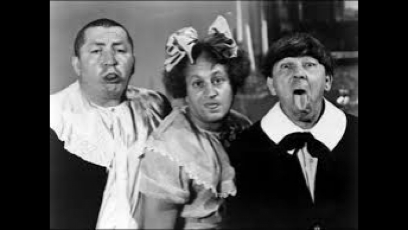 The Three Stooges - 055 - All The Worlds A Stooge (1941) (Curly, Larry, Moe) [DaBaron] (16m13s)