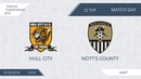 AFL18. England. Championship. Day 22. Hull City - Notts County