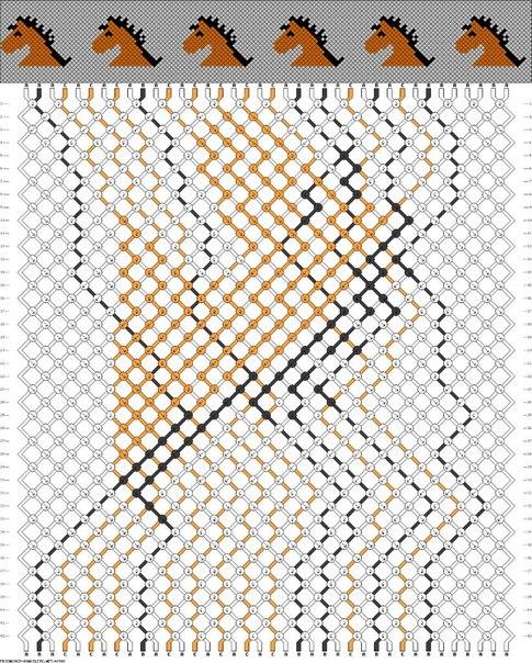 А есть схема плетение фенечки