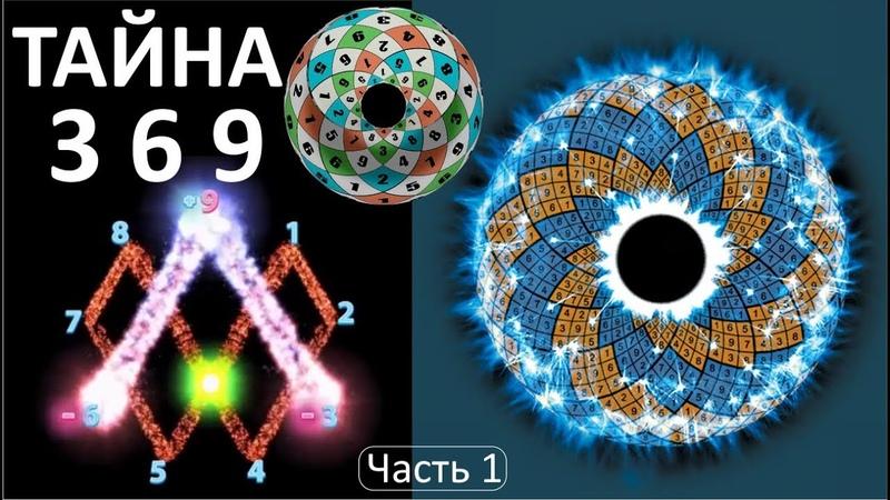 Тайна 3 6 9 Торсионная Математика Сердца Тесла Марко Родин Часть 1