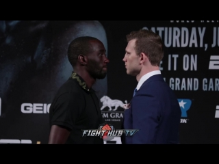 Jeff Horn - Terence Crawford - Face Off