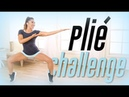 Plie Squat Challenge! Best Thigh Workout