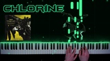 twenty one pilots - Chlorine - piano cover   tutorial   how to play
