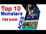 Top 10 MONSTERS KILL Aces 2018 Volleyball Nations League