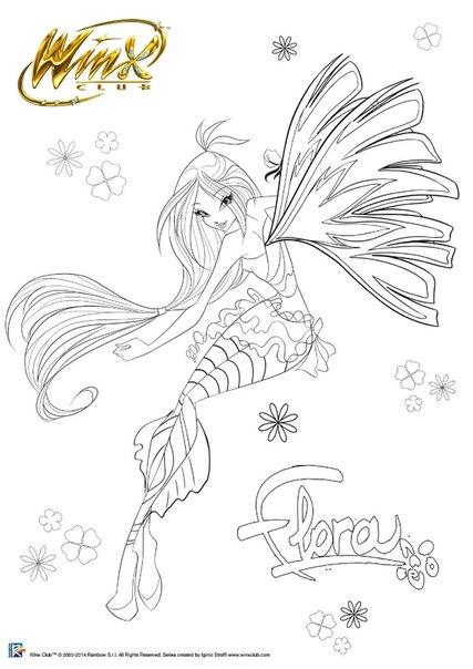 Winx Club Friends New Dibujos Para Colorear A Las Winx Club