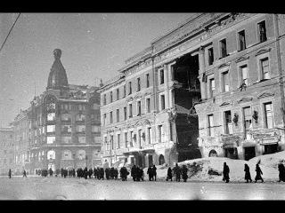 Фильм о блокаде Ленинграда (Реальные редкие кадры блокадного Ленинграда)