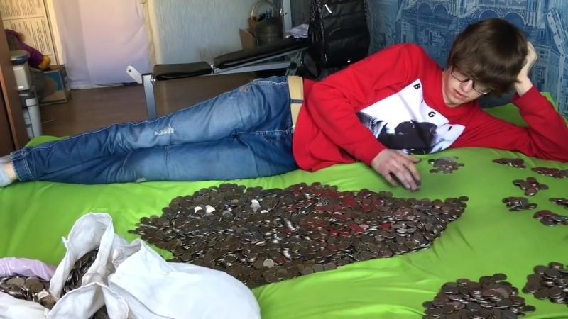 [Sam Jones] Считаю деньги 10 часов Counting money for 10 hours
