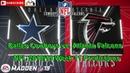 Dallas Cowboys vs. Atlanta Falcons | NFL 2018-19 Week 11 | Predictions Madden NFL 19