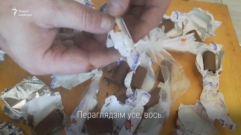 У цукерках «Алёнка» знайшлі жывых чарвякоў | Живые червяки в конфетах «Алёнка»