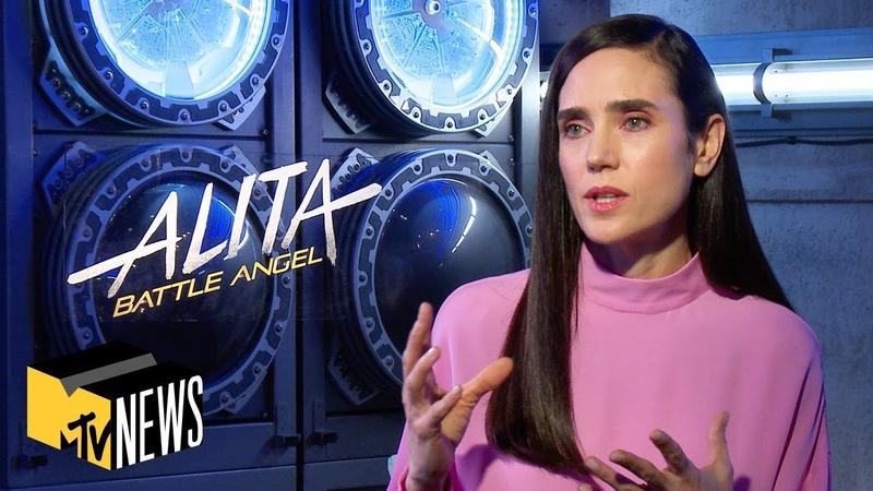 The Making of Alita Battle Angel w Robert Rodriguez, Jennifer Connelly More   MTV News