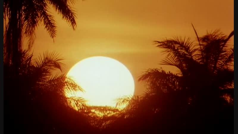 Дикари наблюдают закат солнца