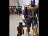 Косплеер показал, что Танос может быть невозможно милым. И помогла ему в этом малышка Гамора