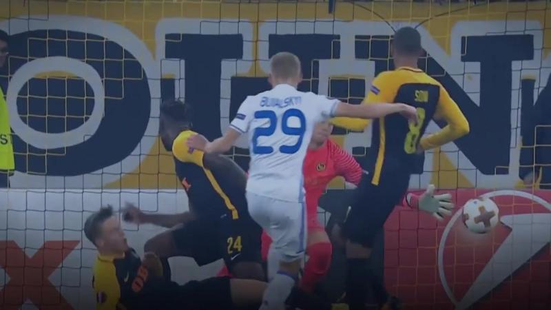 Лучшие голы 4 тура Лиги Европы 17-18 - Best goals of the 4th round of the League of Europe