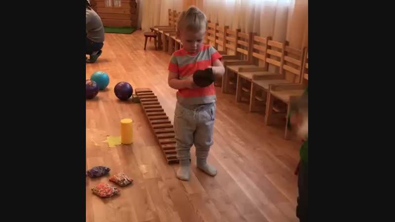 Родион на развивашке детский сад 💞👍🍡🍬 08 11 18