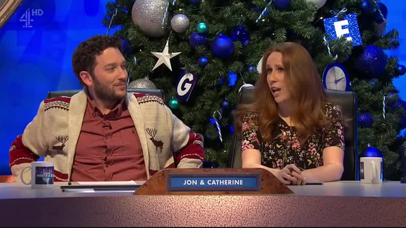 8 out of 10 Cats does Countdown S14E06 (29.12.2017)