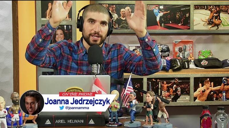 One on one with former UFC champion Joanna Jedrzejczyk Ariel Helwani's MMA Show ESPN