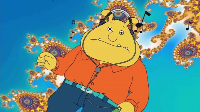 TFW you listen to Kanye West - Lift Yourself - with Binky and Arthur!