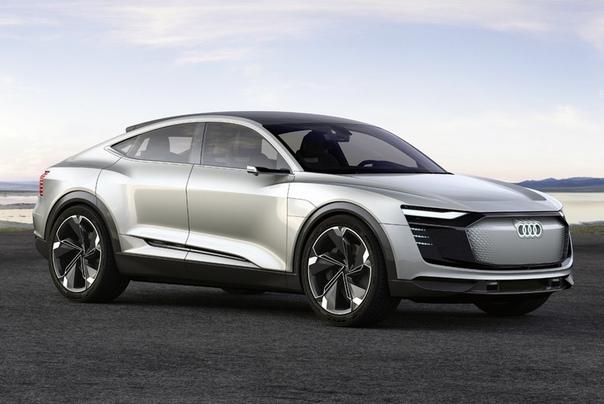 Паркетник Audi e-tron Sportbac дебютировал в камуфляже