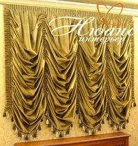 """Плотные, тяжёлые шторы подходят больше к классическому интерьеру, лёгкая и прозрачная ткань - к  """"арабскому """"..."""
