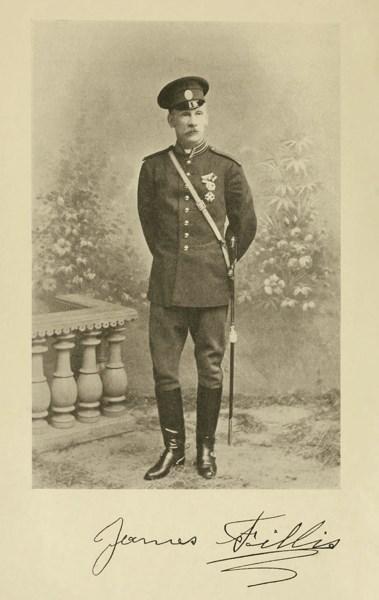 Джеймс Филлис. Нач императорских конюшен, перед назначением в Офицерскую кавалерийскую Школу. На груди орден Святого Станислава, которым в Российской Империи награждали чаще всего за выслугу лет