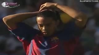 Season 20042005. Malaga CF - FC Barcelona - 04