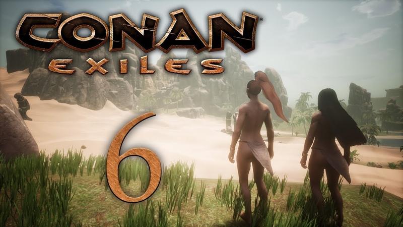 Conan Exiles - прохождение игры на русском - Собираем души и сердца наших врагов [6] | PC