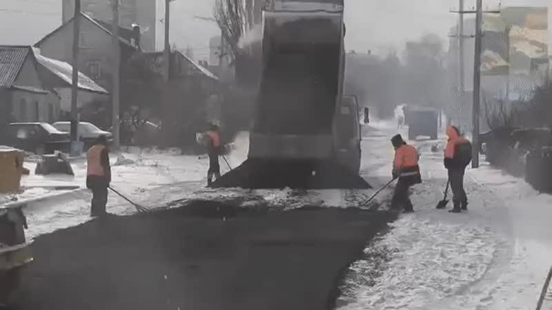 Ну вот, все признаки настоящей русской зимы на лицо. 😂
