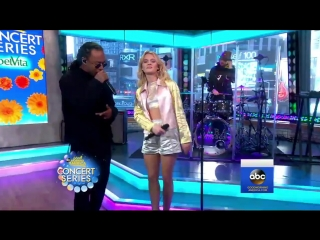 Zara Larsson - So Good (Live on GMA) ft. Ty Dolla $ign