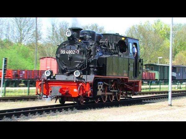Mit der Dampflok über die Insel Rügen - 1/2 - Steam Train - Zug