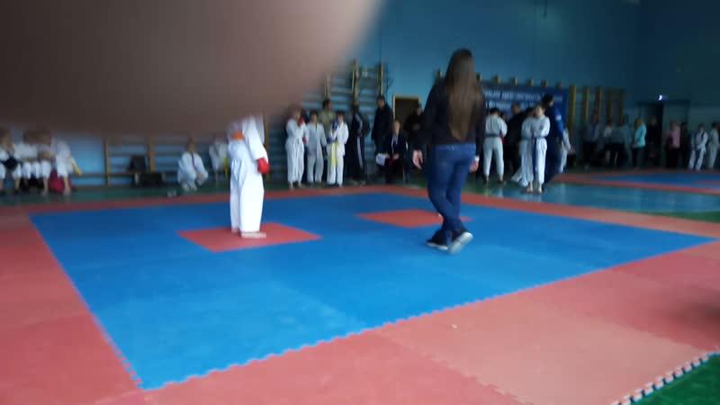 Открытое первенство г.Таганрога по каратэ WKC 2место