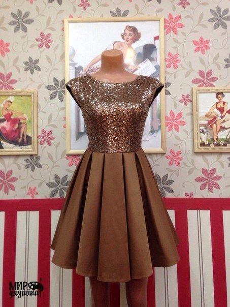 Шьем нарядное платье (7 фото) - картинка