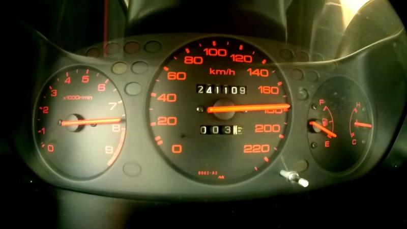 Honda civic EK4 b16a2 stock 0 -180 kmh