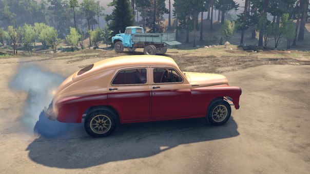 Газ-20 «Победа» для Spintires - Скриншот 2