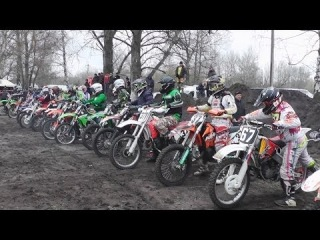 Красноград: мотокросс (открытие сезона - 2014г)
